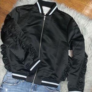 Rachel Roy Ruffled Jacket